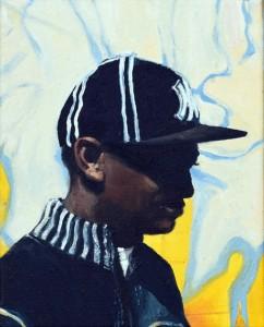 NY (2014), Oil on Canvas, 25 x 20cm