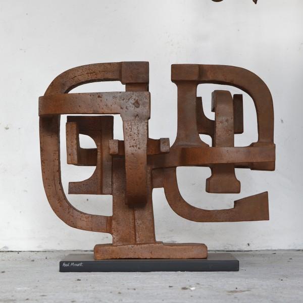 Fugue (2006), Cast Iron, Unique, H61 x W69cm