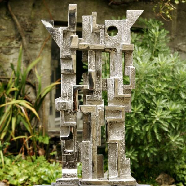 Il Trittico (2008), Stainless Steel, Unique, H74 x W42cm