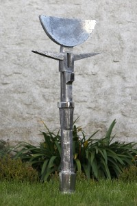 Oba II (1993), Stainless Steel, Unique, H103cm