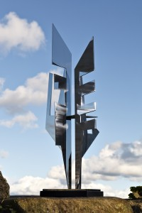 The Guardian (1978), Stainless Steel, Edition of 4, H93.5 x W40cm