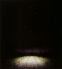 Shrublands Road (2005-06), Oil on Canvas, on Board, 50.75 x 44.5cm