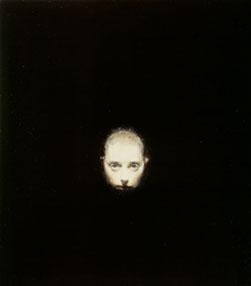 Small Head-Head On (2005-06), Oil on Board, 17.75 x 16cm
