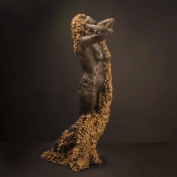 Euphoria (2013), Bronze, Edition of 9, 106 x 26 x 49cm