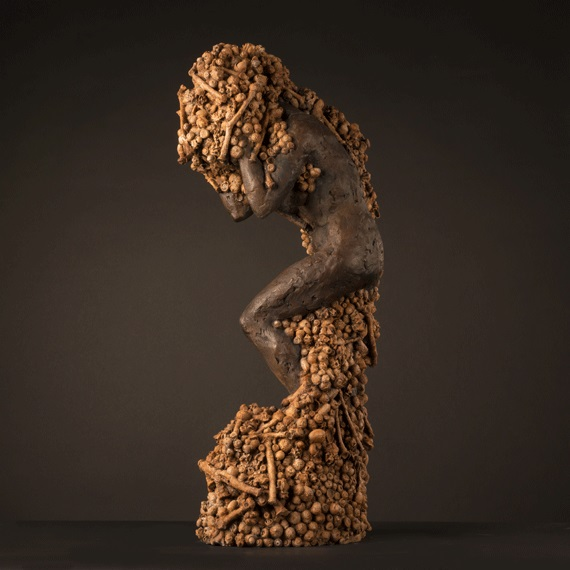 From Whence We Came (2013), Bronze, Edition of 9, 72 x 17 x 25cm
