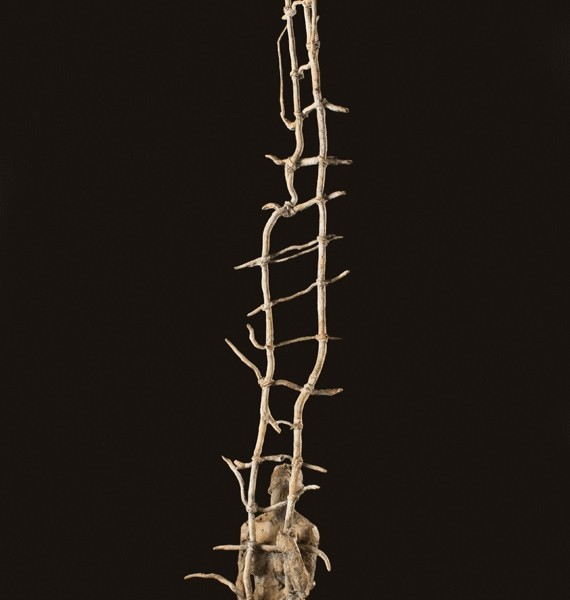 Right Then (2013), Bronze, Edition of 9, 179 x 28 x 25cm