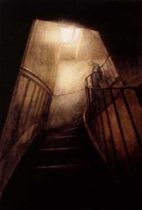 94 Rue du Bac (Marie) (2001-02), Oil on Canvas, 25 x 16cm