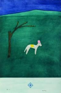 Craigie-Aitchison-Sugarbush-etching