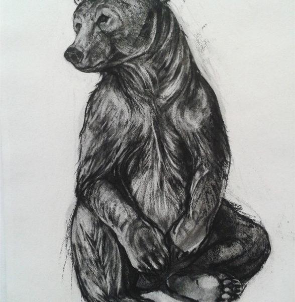 Kendra Haste - Seated Brown Bear 1