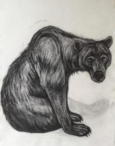Kendra Haste - Seated Brown Bear 2